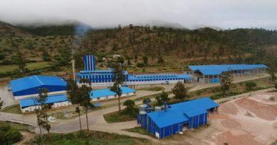 Glass factory in Chuquisaca. Photo: (Ministerio de la Presidencia)