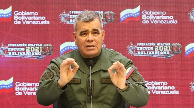 Venezuelan Defense Minister Vladimir Padrino López (Photo: Prensa FANB)