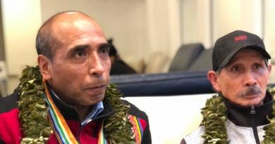 Benigno Vengoa and Carlos Cusihuaman
