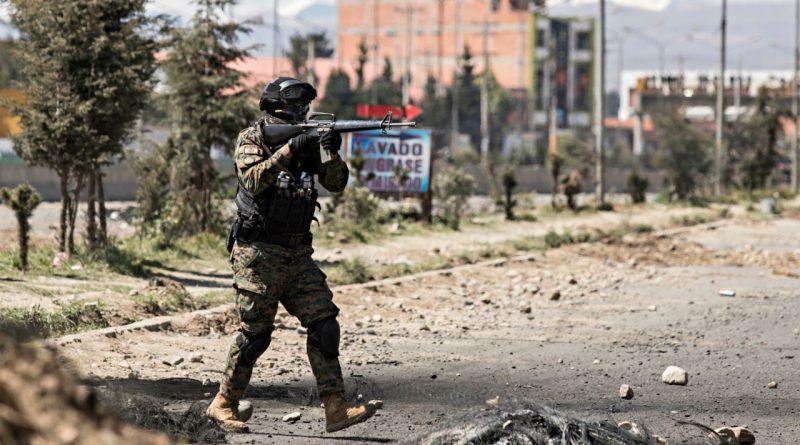 Bolivian General Arrested For Coup Massacre