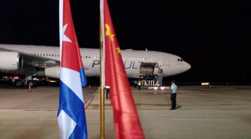 China Sends Cuba Another 24 Tons of Medical Supplies